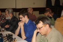 Ben Brewer (centre) and Scott Hammett (right)