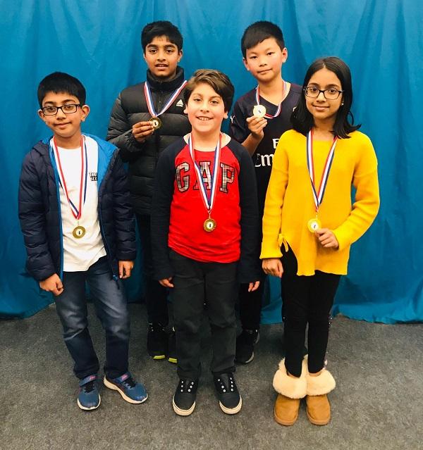 Under 11 winners