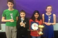 U14 Prize Winners