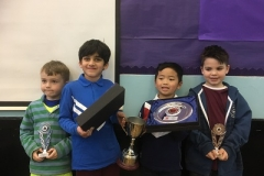 Under 8 Prize Winners